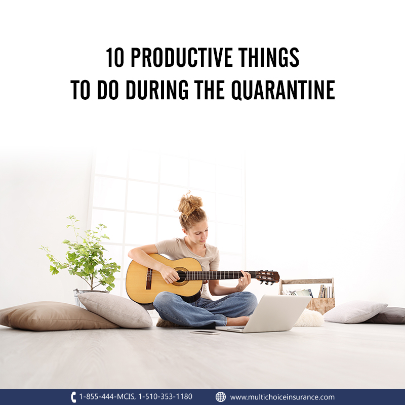 10 Activities to Keep You Busy While Quarantining
