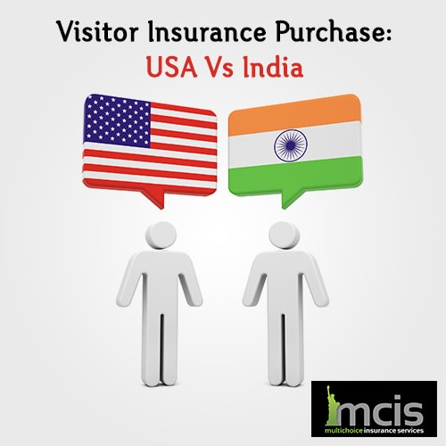 Visitor Insurance Purchase: USA VS India-image