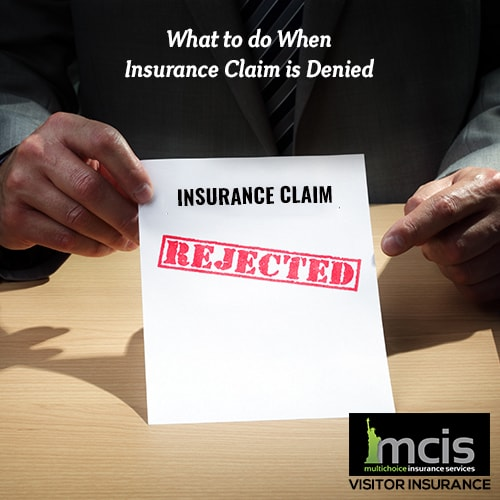 What to do When Insurance Claim is Denied Image